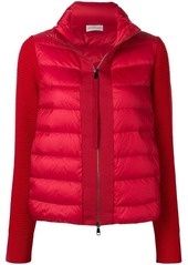 Moncler panelled puffer jacket