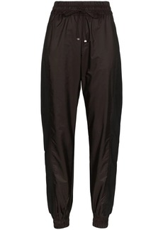 Moncler panelled shell track pants