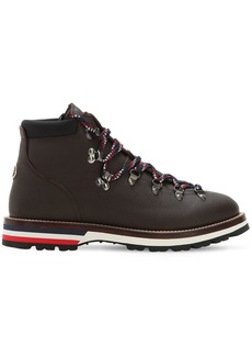 Moncler Peak Leather Hiking Boots