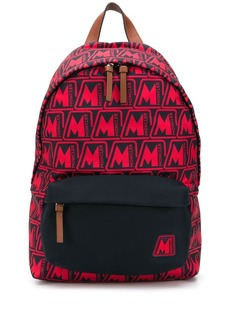 Moncler Pierrick all-over logo backpack