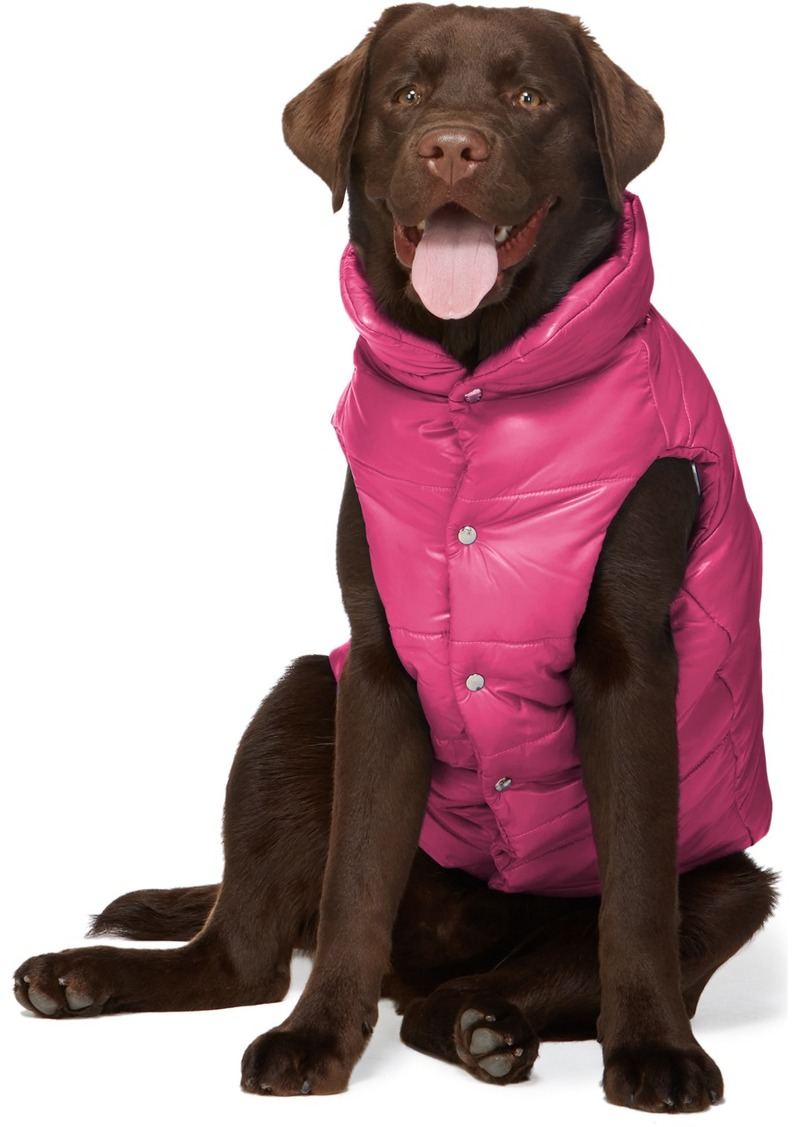 Moncler Pink Poldo Dog Couture Edition Insulated Jacket