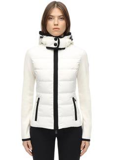Moncler Polar Tech & Nylon Down Jacket