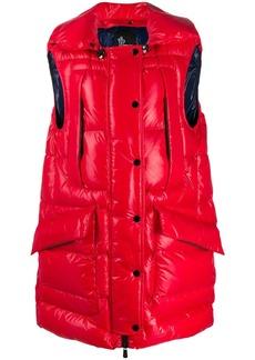 Moncler puffer vest jacket