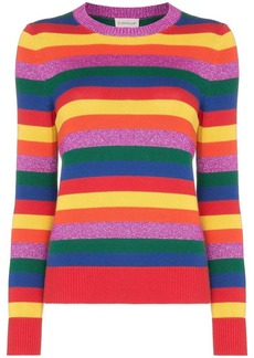 Moncler Rainbow stripe jumper
