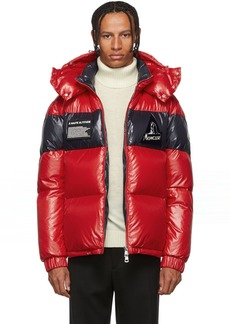 Moncler Red Down Gary Jacket