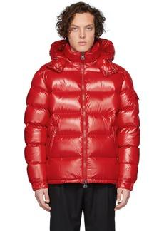 Moncler Red Down Maya Jacket