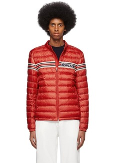 Moncler Red Down Retro Renauld Jacket