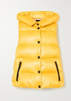Moncler Resy Hooded Quilted Shell Down Vest