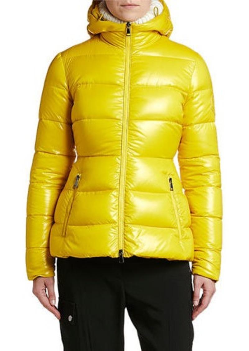 Moncler Rhin Semi-Fit Puffer Jacket w/ Hood