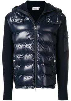 Moncler ribbed sleeve padded jacket
