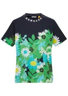 Moncler Richard Quinn Printed Jersey T-shirt