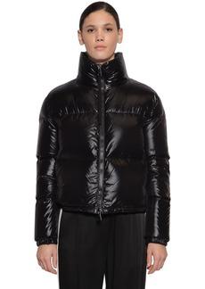 Moncler Rimac Nylon Laqué Down Jacket
