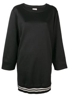 Moncler scuba sweatshirt dress