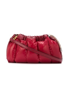 Moncler Seashell padded clutch