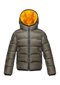 9df51039e Moncler Serge Hooded Puffer Coat Olive Size 8-14