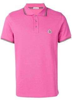 Moncler short sleeved polo shirt
