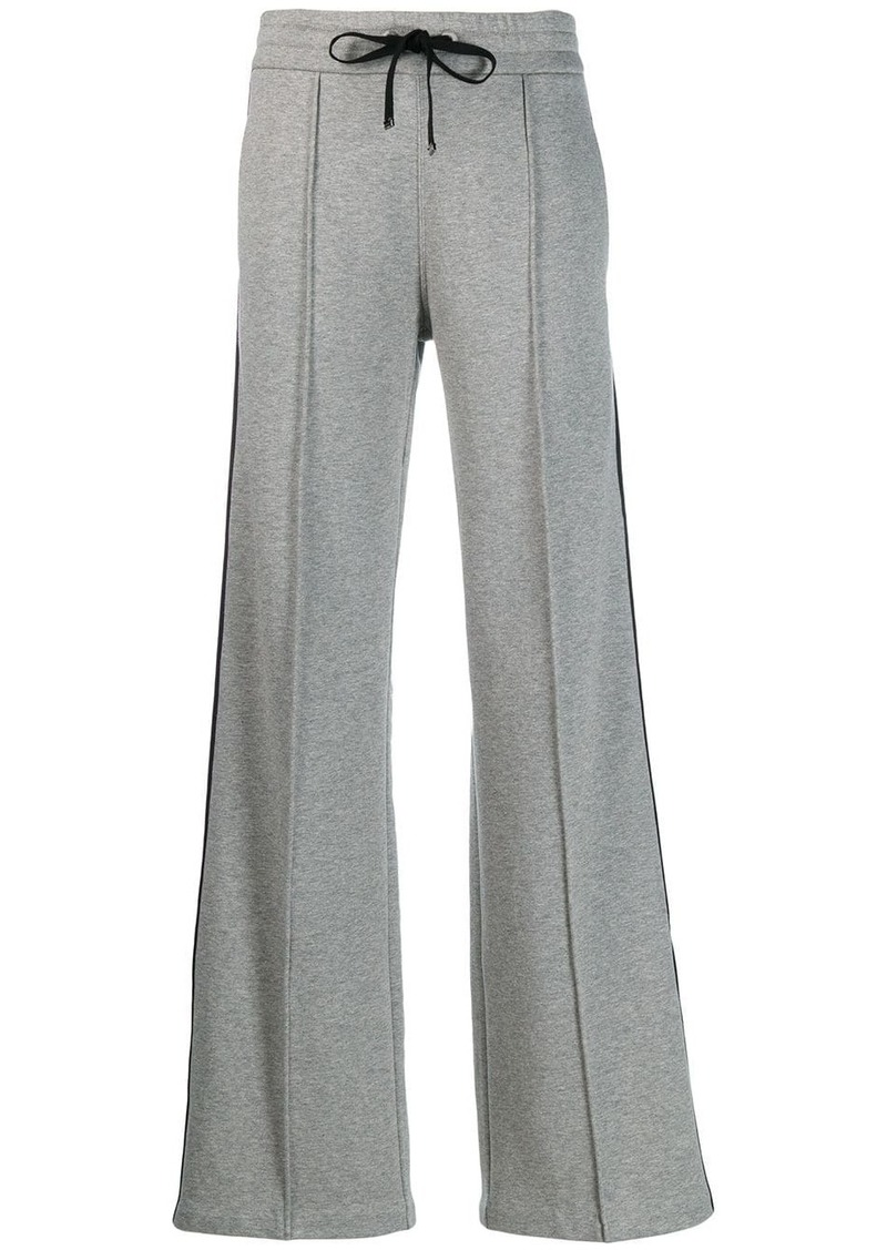 Moncler side stripe track trousers