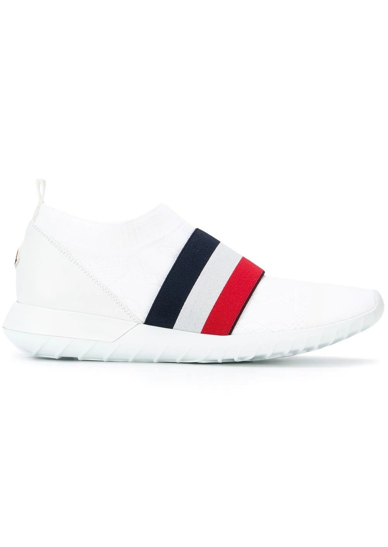 Moncler slip-on stripe front sneakers