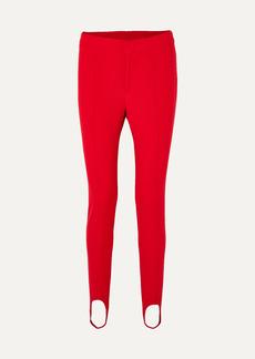 Moncler Stretch-twill Stirrup Pants