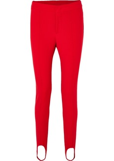Moncler Stretch-twill Stirrup Pants