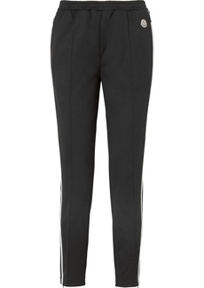 Moncler Striped Jersey Track Pants