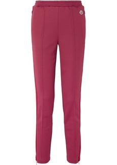 Moncler Striped Stretch-jersey Track Pants