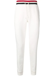 Moncler striped waistband trousers