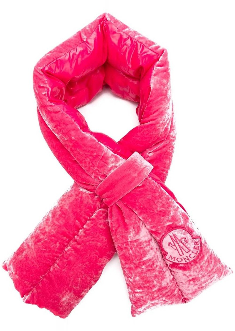 Moncler structured scarf