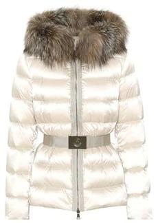 Moncler Tatie fur-trimmed down jacket