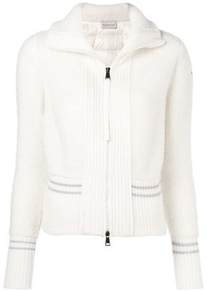 Moncler teddy padded track jacket