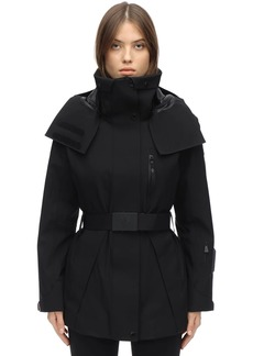 Moncler Thielle Stretch Tech Nylon Down Jacket