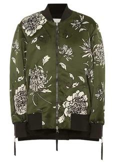 Moncler Thimphou printed bomber jacket
