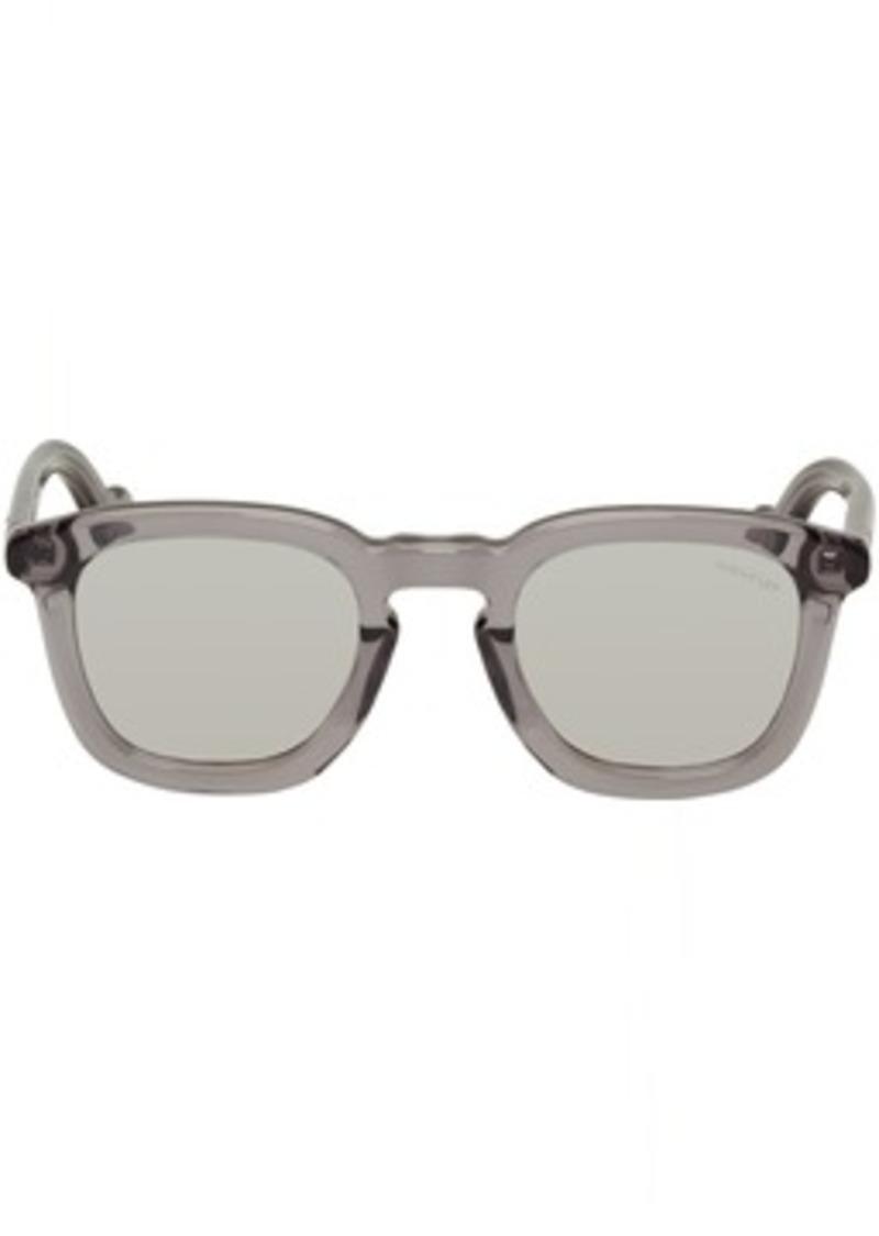 Transparent Mr Moncler ML 0006 Sunglasses