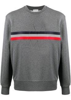 Moncler tricolour stripe jumper