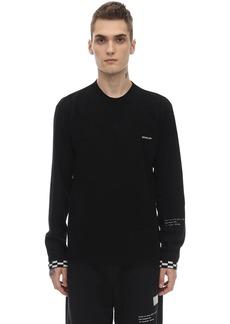 Moncler Virgin Wool & Cashmere Knit Sweater