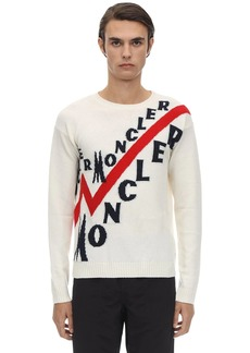 Moncler Virgin Wool & Cashmere Tricot Sweater