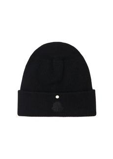 Moncler Virgin Wool Knit Beanie