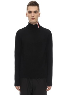 Moncler Virgin Wool Knit Sweater
