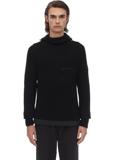 Moncler Lvr Exclusive Virgin Wool Knit Sweater