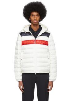 Moncler White Down Kourou Jacket