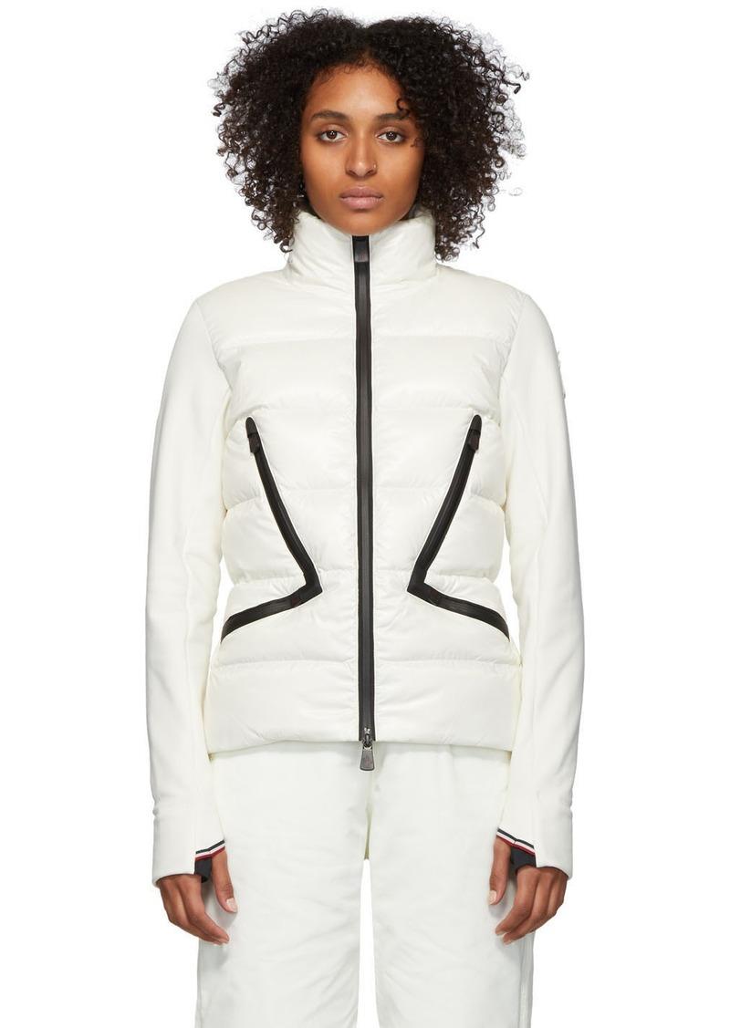 Moncler White Down Maglia Jacket