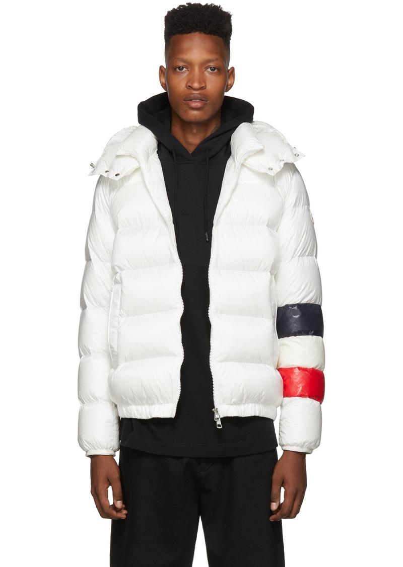 Moncler White Down Willm Jacket