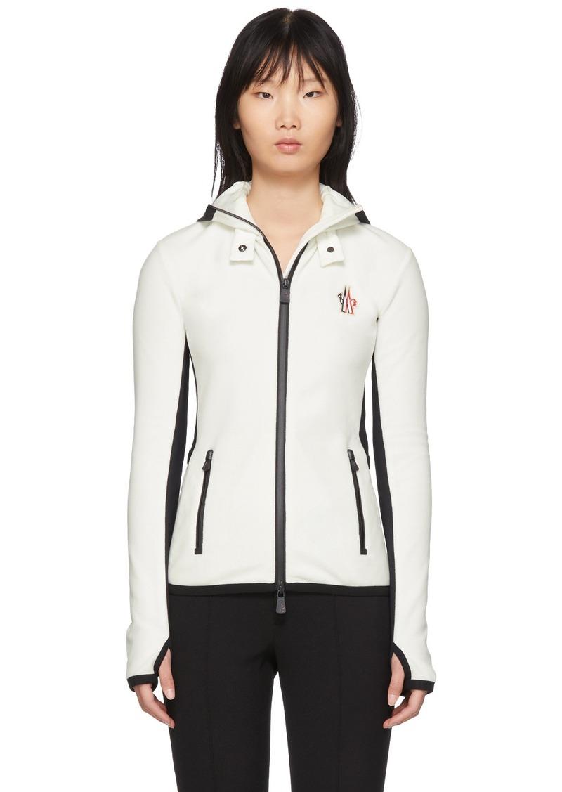 Moncler White Maglia Jacket