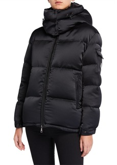 Moncler Wil Puffer Coat w/ Detachable Hood