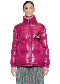 Moncler Wilson Nylon Laqué Down Jacket
