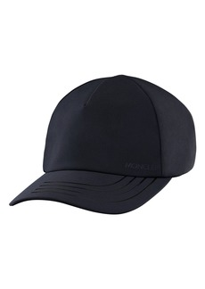 Women's Moncler Logo Baseball Cap - Black