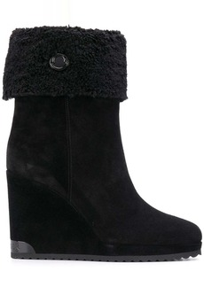 Moncler Zannie wedge boots