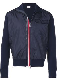 Moncler zip front bomber jacket