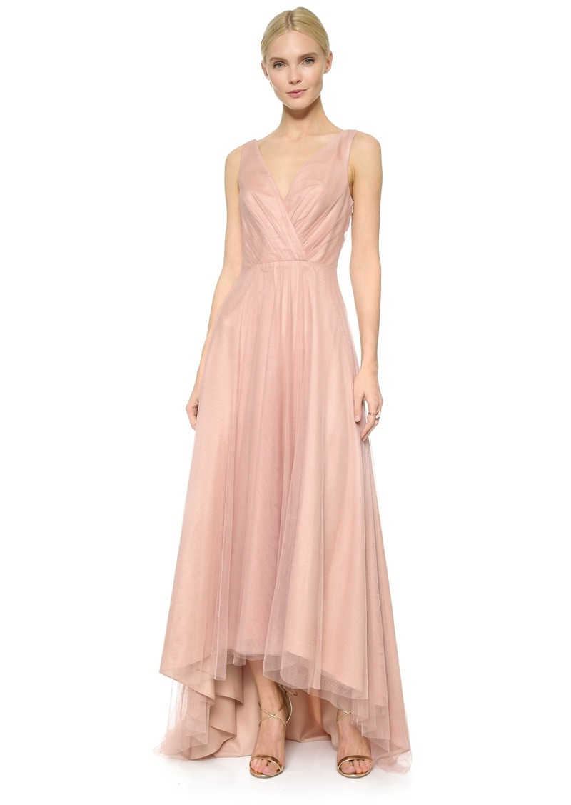 SALE! Monique Lhuillier Monique Lhuillier Bridesmaids High Low Tulle ...