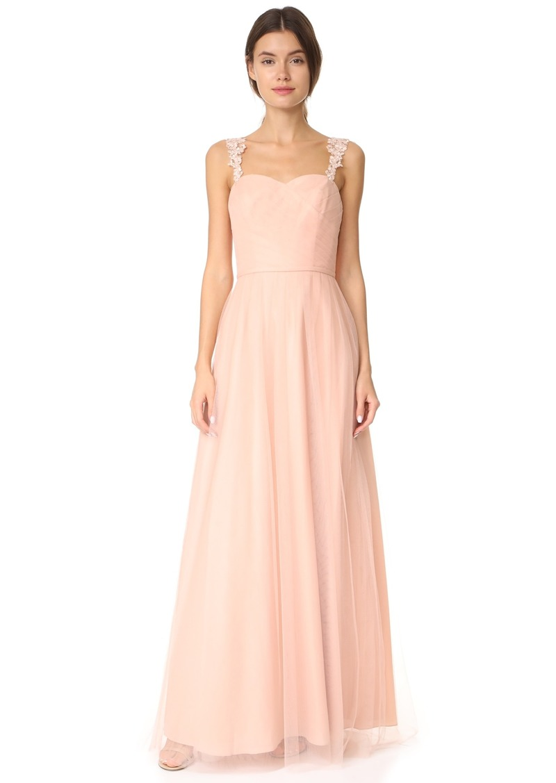 Monique Lhuillier Monique Lhuillier Bridesmaids Tulle Gown
